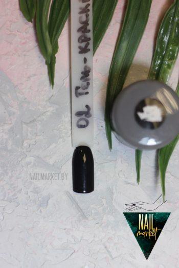 Гель краска Queen (черная, 5 грамм)