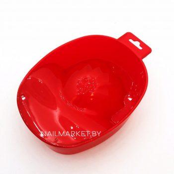 Ванночка для маникюра красная в Минске